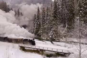 Călătoria Mocăniței prin Maramureș, surprinsă în imagini impresionante – VIDEO