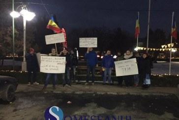 Protest spontan la Gherla, față de măsurile Guvernului – VIDEO