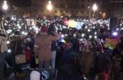 Clujul rezistă! Peste 10.000 de oameni în a 13-a seară de proteste – FOTO/VIDEO