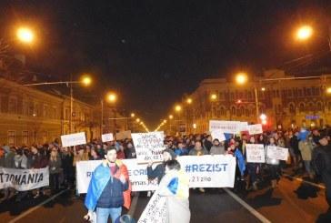 Cluj 4 din 4: Patruzeci de mii de oameni în a patra zi de proteste – FOTO/VIDEO