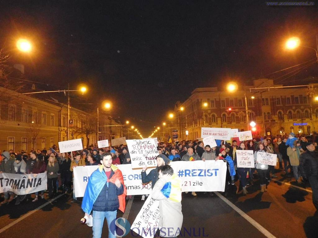 proteste cluj ziua 4
