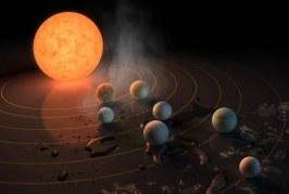 """NASA a anunţat descoperirea a şapte planete de mărimea Terrei, unele fiind posibil """"locuibile"""""""