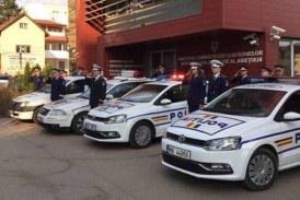In memoriam! Polițiștii clujeni au ținut azi un moment de reculegere în memoria colegilor căzuți la datorie – VIDEO