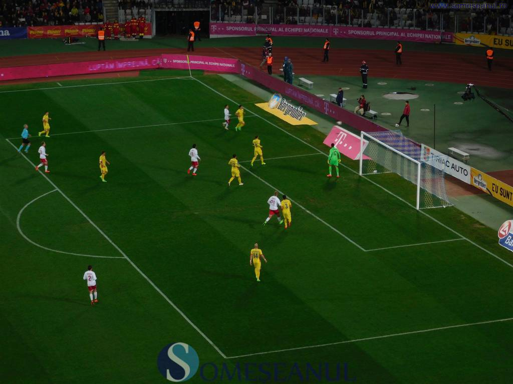 Romania-Danemarca Cluj Arena