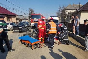 Trei victime în urma unui accident grav în Măluț – FOTO