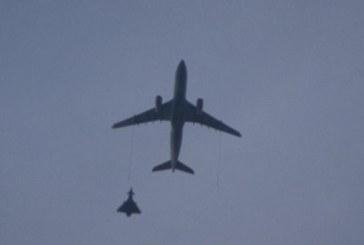 Avion ce decolase din România, interceptat cu avioane de luptă în Marea Britanie