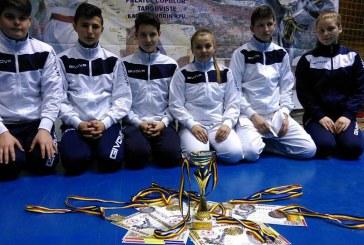Cinci medalii cucerite de sportivii Budokan Ryu la Campionatul Național de Karate WUKF