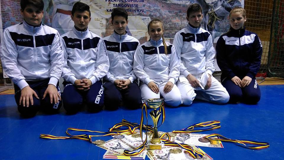 budokan ryu campionat national targoviste