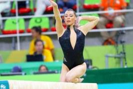 Medalii de aur pentru Cătălina Ponor, la bârnă și sol, în Cupa Mondială de la Baku