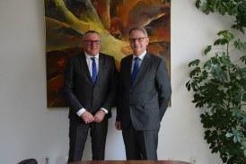 Vicepreședintele CJ Cluj, Marius Mînzat, a prezentat ambasadorului Danemarcei oportunitățile de investiții ale județului