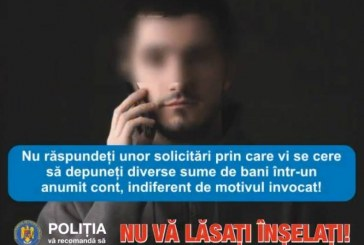"""IPJ Cluj: Acțiuni de prevenire a înșelăciunilor prin metoda """"Accidentul"""""""