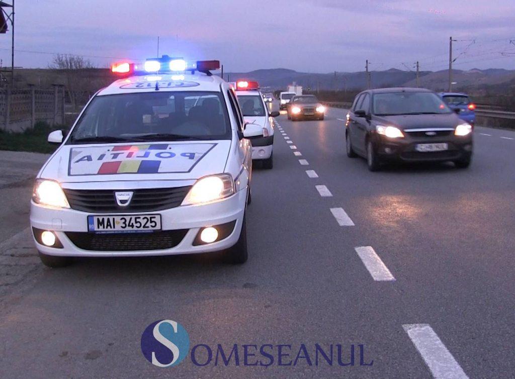 Polițiștii din Dej și Gherla au prins mai mulți șoferi, pentru infracțiuni la regimul rutier