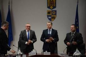 Principele Radu al României, primit la Consiliul Județean de Marius Mînzat
