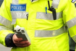 Bărbat din Dej prins băut la volan de polițiști