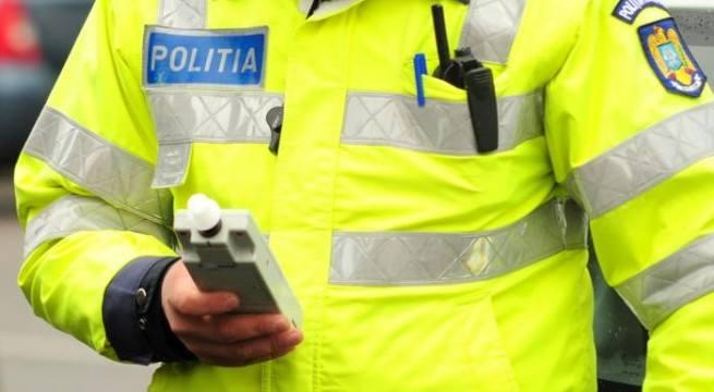 Bistrițean prins băut la volan de polițiștii clujeni