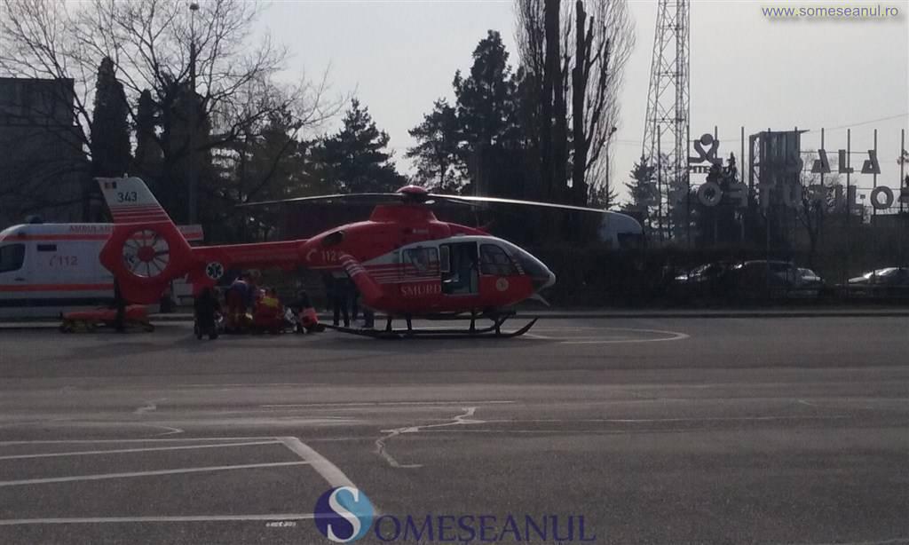 ambulanta elicopter smurd accident