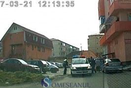 VIDEO – Polițiștii dejeni în acțiune – Minoră prinsă de oamenii legii după ce a fugit de polițiști