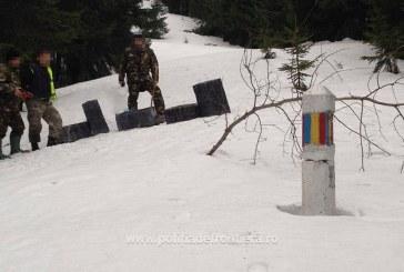 Contrabanda cu țigări se face cu snow-mobilul la frontiera de nord