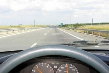 Șofer începător din Bistrița. A confundat șoseaua din Căianu Mic cu autostrada