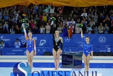FOTO/VIDEO – Aur, argint și bronz pentru gimnaștii români la Europenele de la Cluj