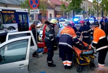 Grav accident pe Calea Moților din Cluj. Trei persoane rănite, printre care un bebeluș de 7 luni – VIDEO