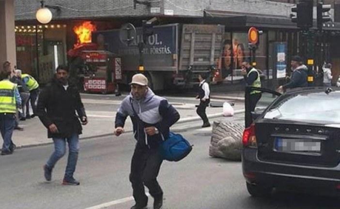 Atentat în Stockholm. Un român se află printre victime