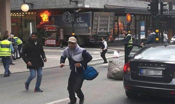 atentat camion stockholm