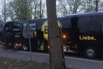 Explozii în apropierea autocarului echipei de fotbal Borussia Dortmund. Un fotbalist a fost rănit