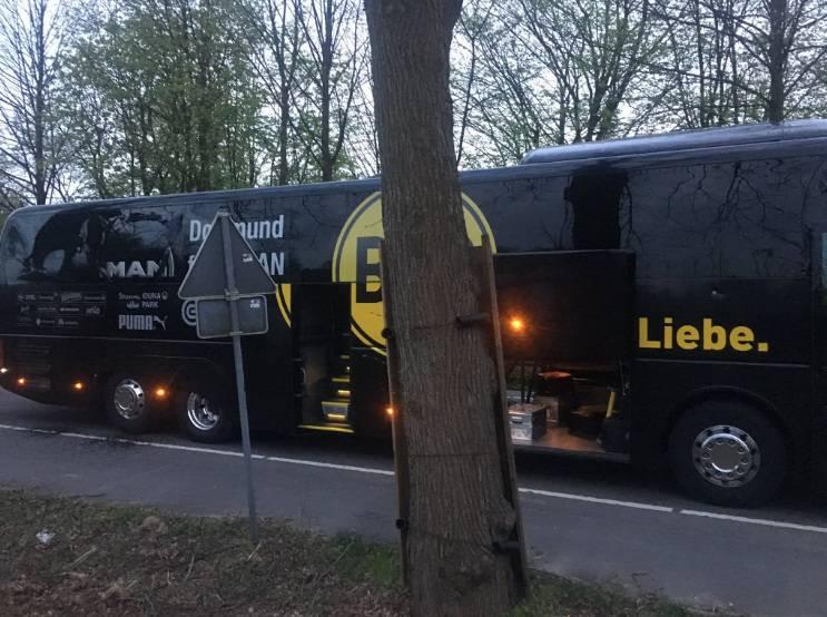 autocar borussia dortmund bus explosion