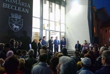 Premierul Grindeanu, în vizită la Beclean. A cerut ca oamenii să acorde în continuare încredere Guvernului