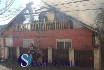 Sprijin din partea Primăriei Dej pentru familia afectată de un incendiu de casă