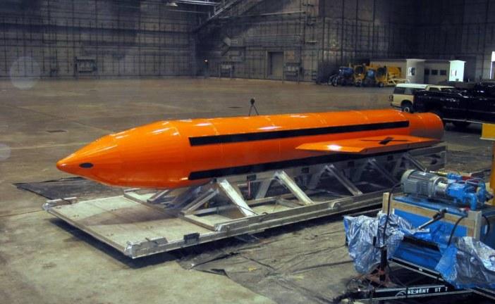 """Statele Unite au lansat """"mama tuturor bombelor"""" în Afganistan – VIDEO"""