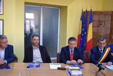 Parteneriat semnat între Primăria Dej şi UNPR (Uniunea Naţională a Patronatului Român)