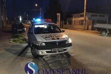 Adolescent din Dej, prins de polițiști la volanul unei mașini neînmatriculate. Ce alte fapte ilegale au mai descoperit oamenii legii
