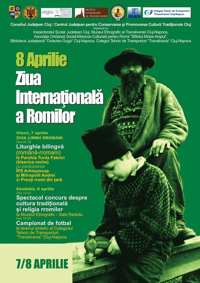 ziua internationala a romilor cluj