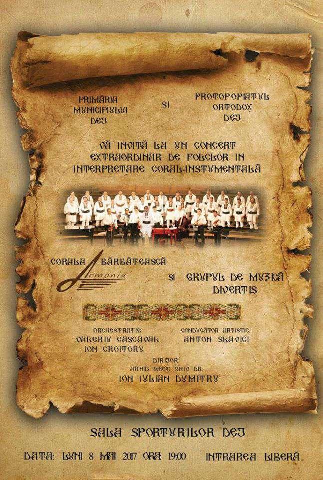Afis concert Armonia editat