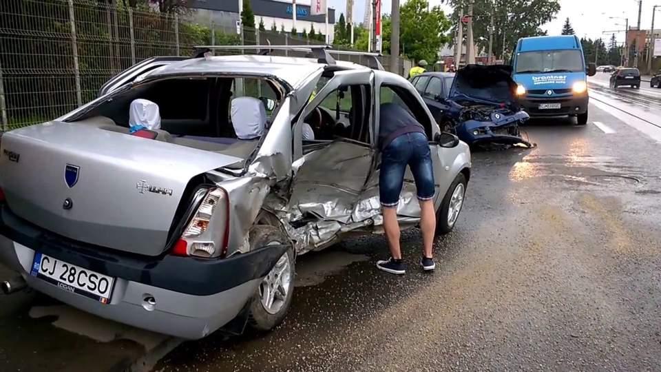 accident 4 victime muncii cluj