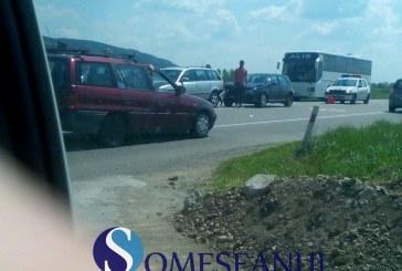 Accident în lanț la Fundătura. Patru mașini au fost implicate – FOTO
