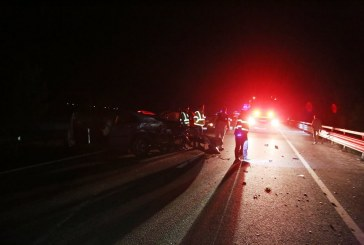 Accident cu șase victime. Un tir, un microbuz şi două autoturisme implicate – FOTO/VIDEO