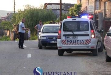 Biciclist beat, grav accidentat la Livada. S-a ales cu capul spart – VIDEO
