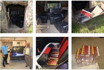 Țigări de contrabandă în valoare de peste 95.000 lei, confiscate la frontiera de nord