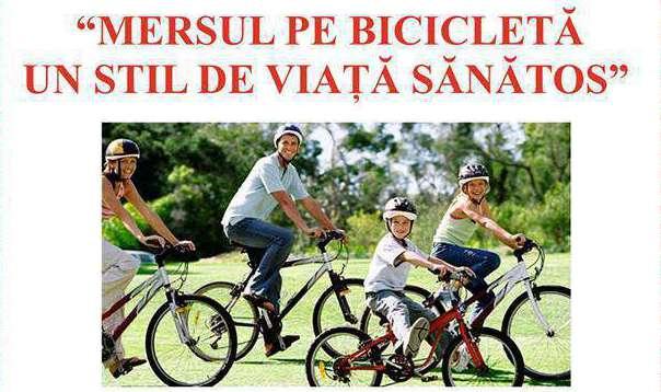 """Toți dejenii la pedalat! Competiția """"Mersul pe bicicletă, un stil de viață sănătos"""" are loc sâmbătă la Dej"""
