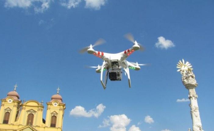 Un bistrițean s-a ales cu dosar penal pentru folosirea unei drone