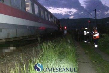 Femeie lovită mortal de tren la ieșire din Gherla. Cel mai probabil s-a sinucis – VIDEO