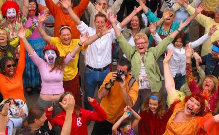 Astăzi sărbătorim ziua mondială a râsului