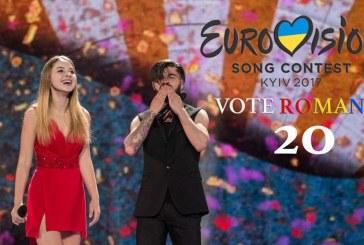 România intră azi în finala Eurovision. Ilinca și Alex Florea intră de pe poziția 20 în scenă