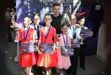 Medalii și cupe pentru dansatorii dejeni la Campionatul Național de la Brașov