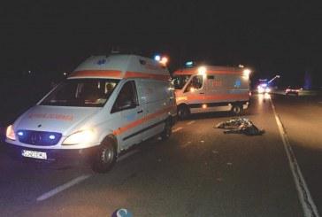 Accident mortal în apropiere de Sighetu Marmației, după ce două autovehicule s-au ciocnit