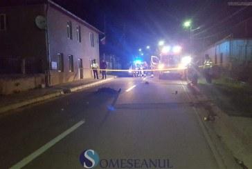 Bărbat accidentat mortal de un autoturism la Dej. Pietonul a murit pe loc – VIDEO