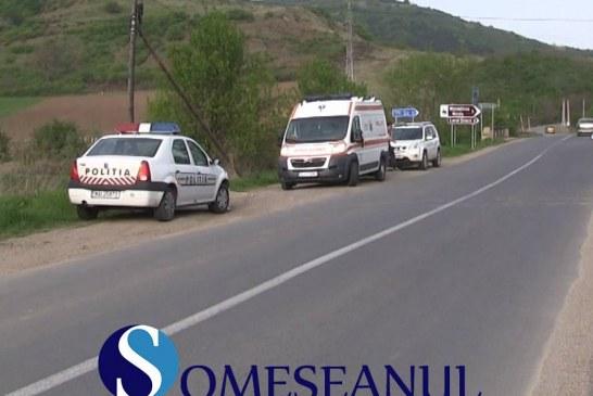 Accident la Nicula, provocat de un tânăr din Dej, băut la volan